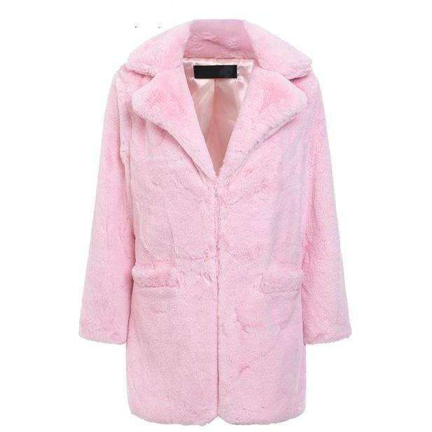Candy Faux Fur Coat - Own Saviour - Free worldwide shipping