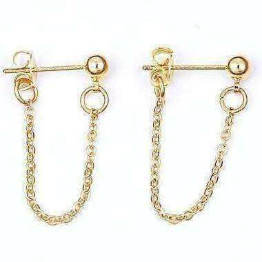 Chain Earrings - Own Saviour - Free worldwide shipping