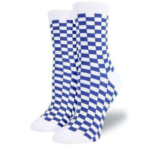 Checkerboard High Socks - Own Saviour - Free worldwide shipping