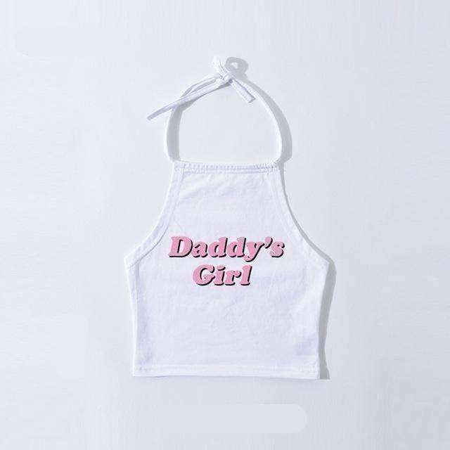 Daddy's Girl Halter Crop - Own Saviour - Free worldwide shipping