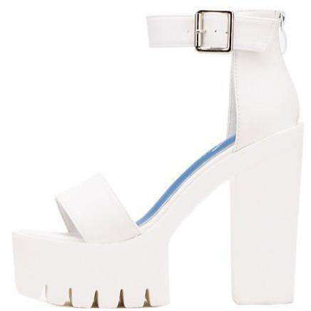 Jade Open Toe Platform Sandals-Own Saviour