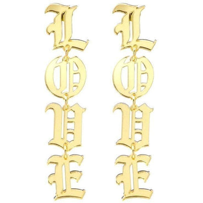 Love Drop Earrings - Own Saviour - Free worldwide shipping