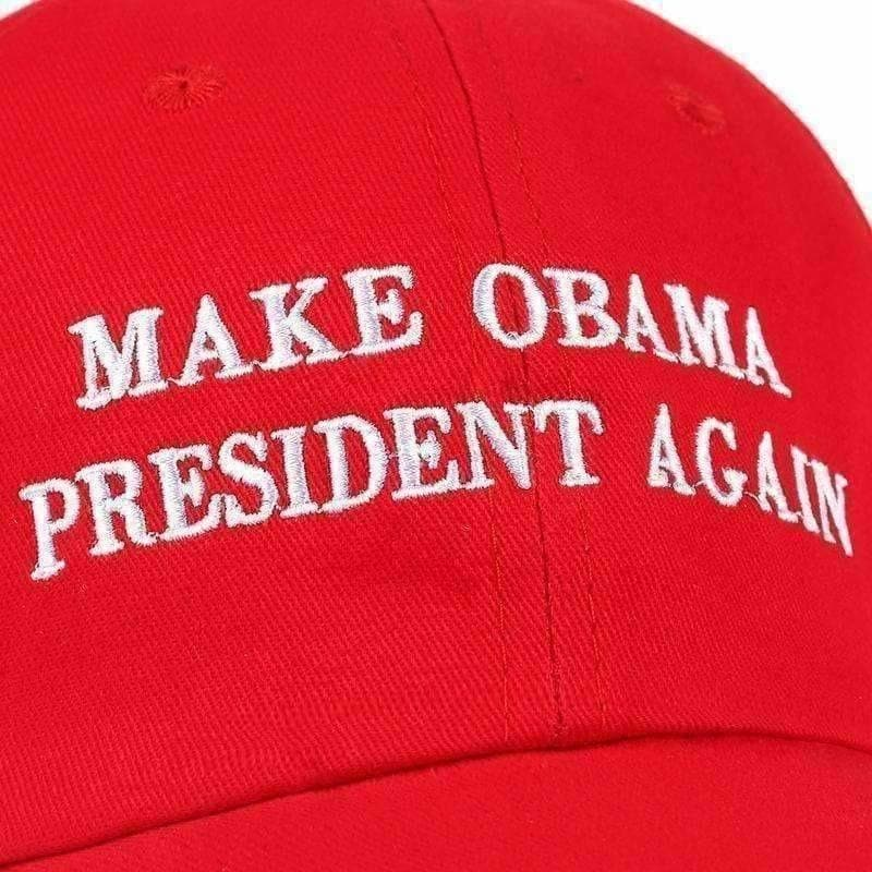 Make Obama President Again Dad Hat-Own Saviour