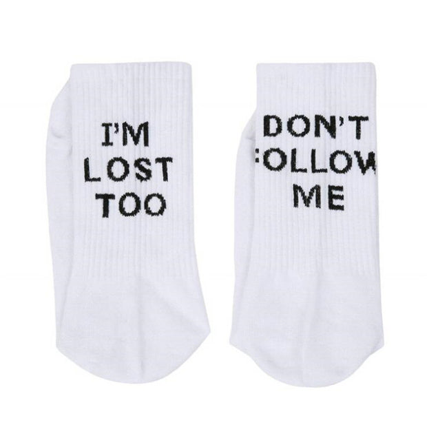 I'm Lost Too Socks - Own Saviour - Free worldwide shipping