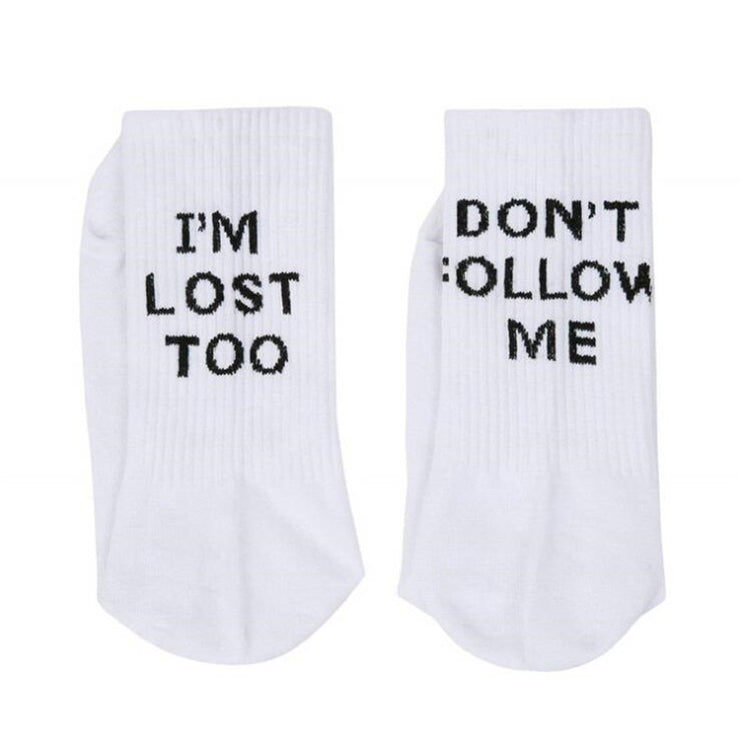 I'm Lost Too Socks - Own Saviour