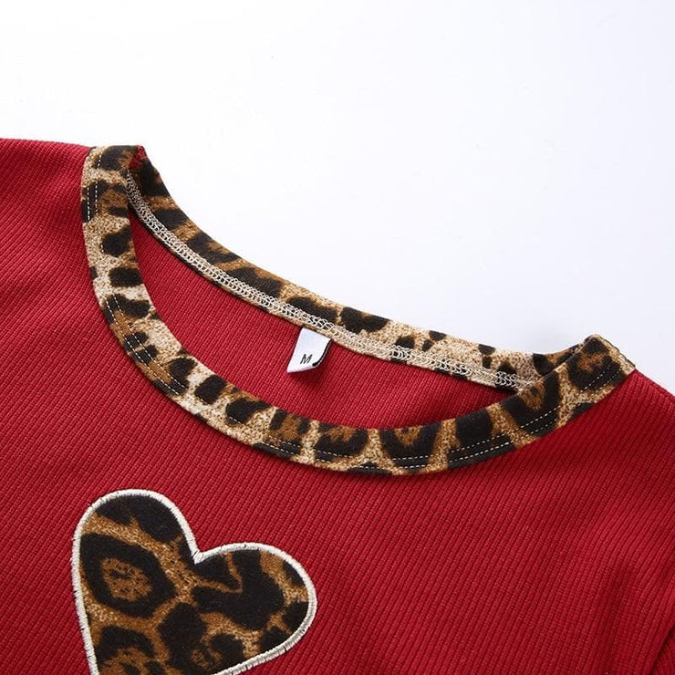 Leopard Love Top - Own Saviour - Free worldwide shipping