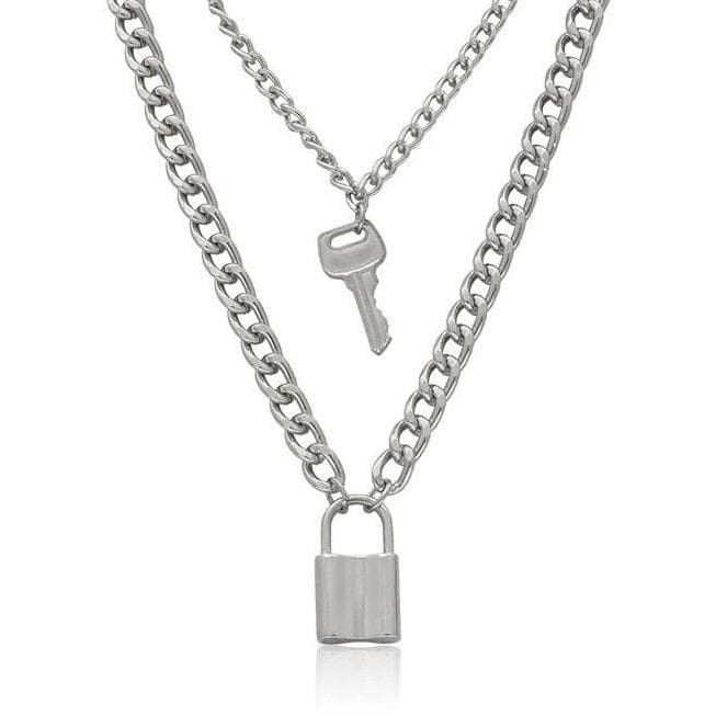 Lock + Key Necklace - Own Saviour