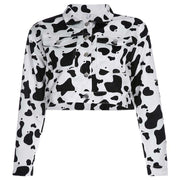 Cropped Cow Jacket - Own Saviour