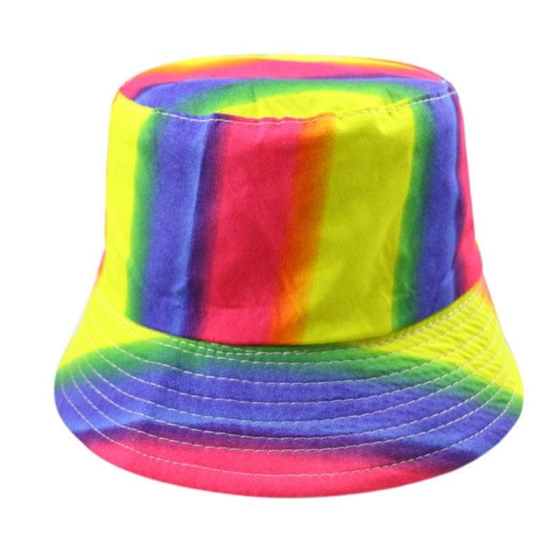 Light Rainbow Bucket Hat - Own Saviour - Free worldwide shipping