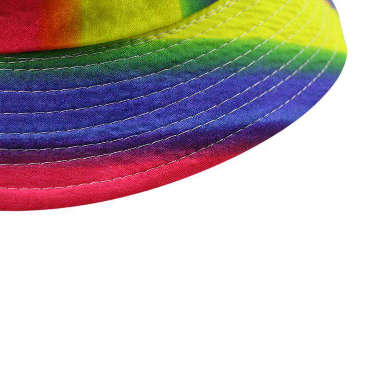 Light Rainbow Bucket Hat - Own Saviour