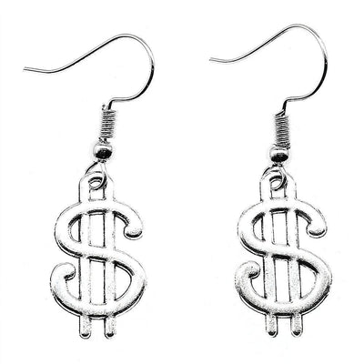 Dollar Sign Earrings - Own Saviour - Free worldwide shipping