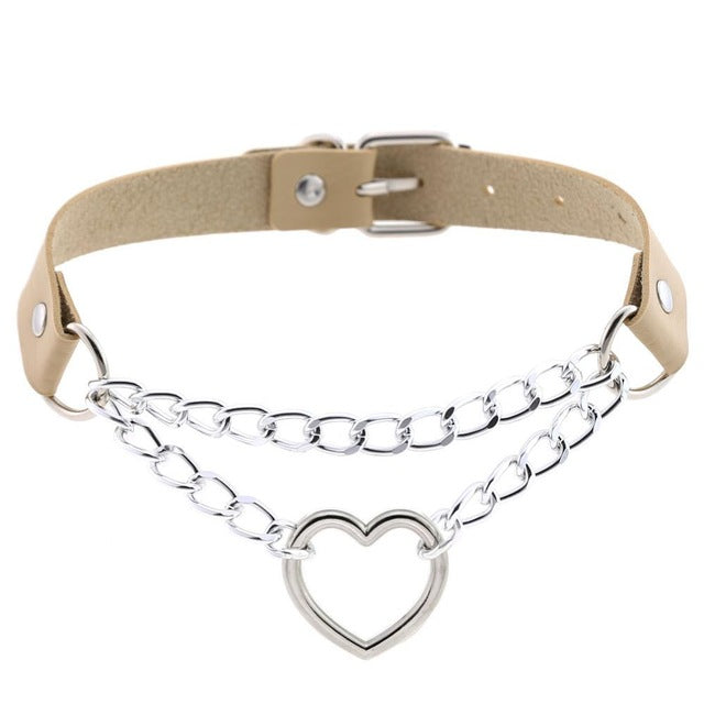 Heart Chain Choker - Own Saviour