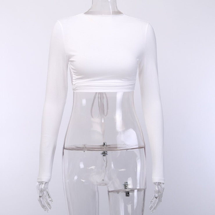 Underbust Backless Crop - Own Saviour - Free worldwide shipping