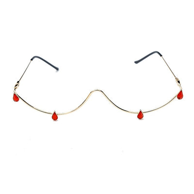 Drop Half Frame Glasses - Own Saviour - Free worldwide shipping