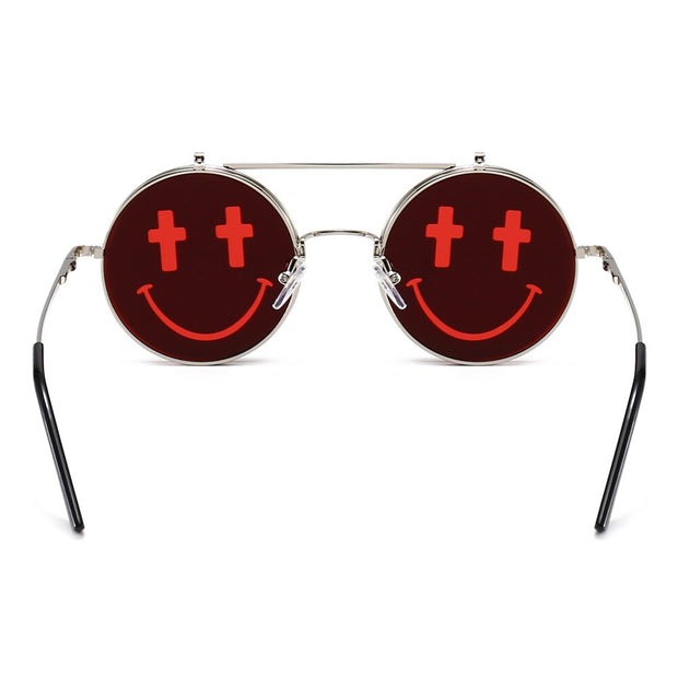 Cross Smiley Shades