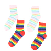 Rainbow Striped Socks - Own Saviour