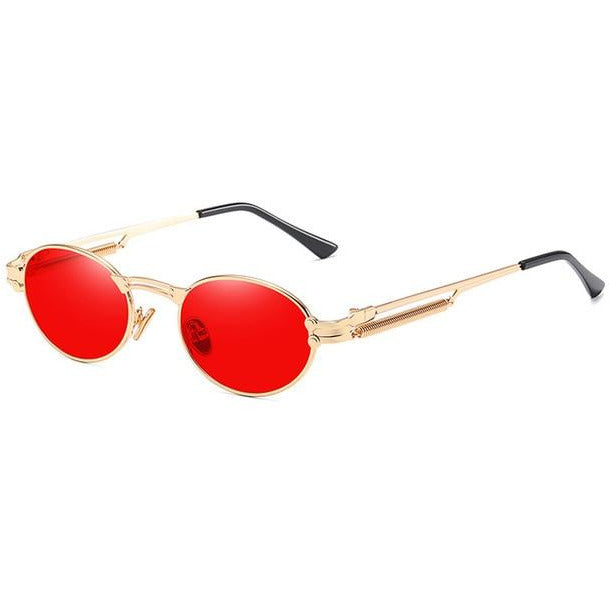 Retro Oval Coloured Shades - Own Saviour - Free worldwide shipping