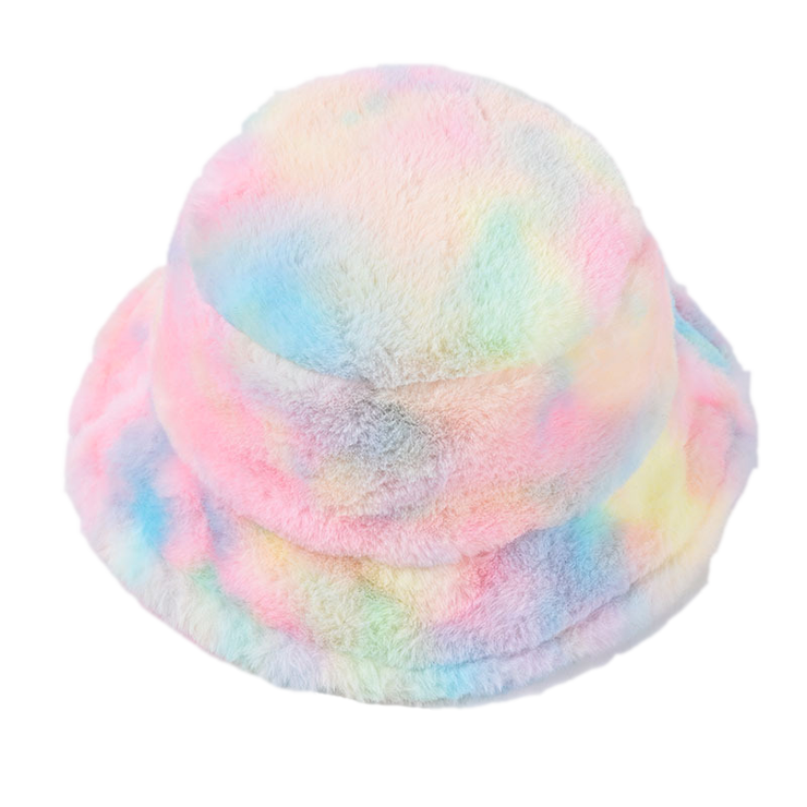 Furry Rainbow Bucket Hat - Own Saviour - Free worldwide shipping