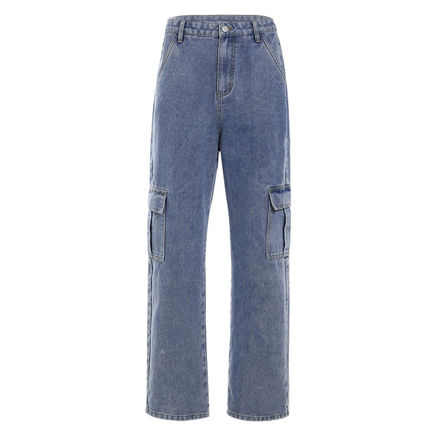 Cargo Loose Jeans - Own Saviour - Free worldwide shipping