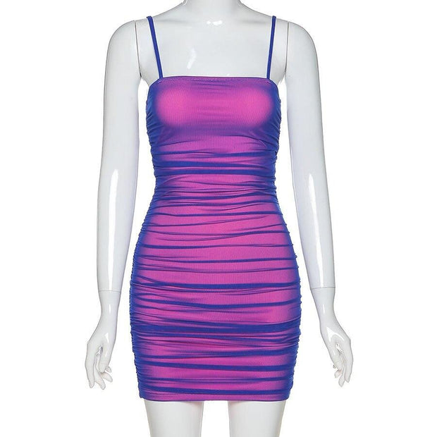 Pink Purple Holo Dress - Own Saviour