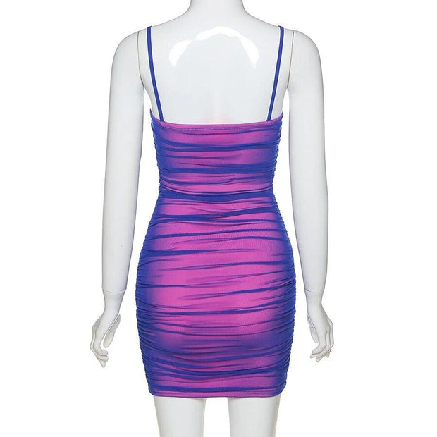 Pink Purple Holo Dress - Own Saviour - Free worldwide shipping