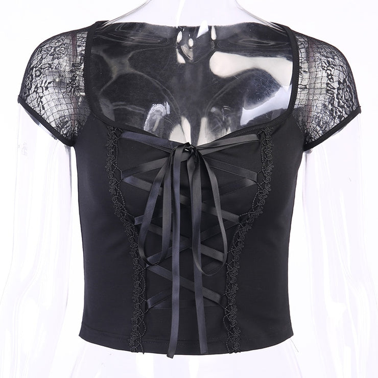 Lace Corset Tee - Own Saviour