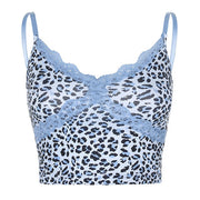 Leopard Frill Vest - Own Saviour