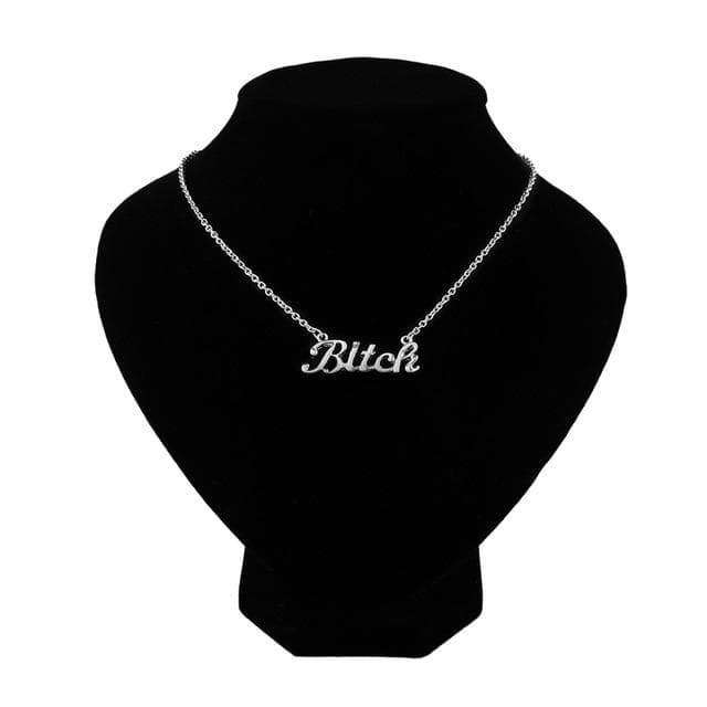 Bitch Necklace - Own Saviour - Free worldwide shipping
