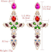 Oversize Baroque Earrings - Own Saviour - Free worldwide shipping