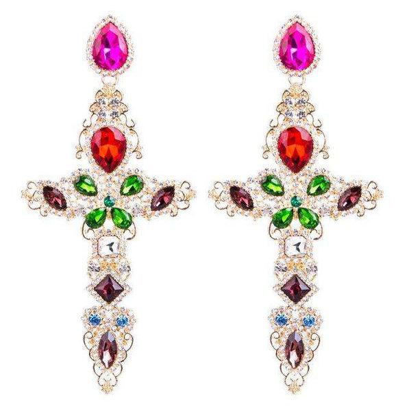 Oversize Baroque Earrings