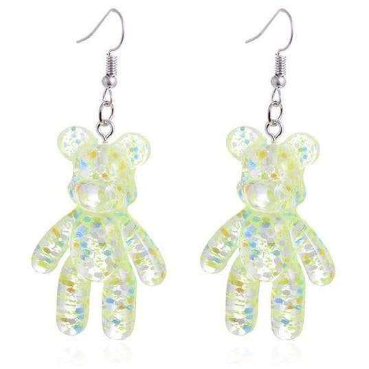 Bear Drop Earrings - Own Saviour - Free worldwide shipping