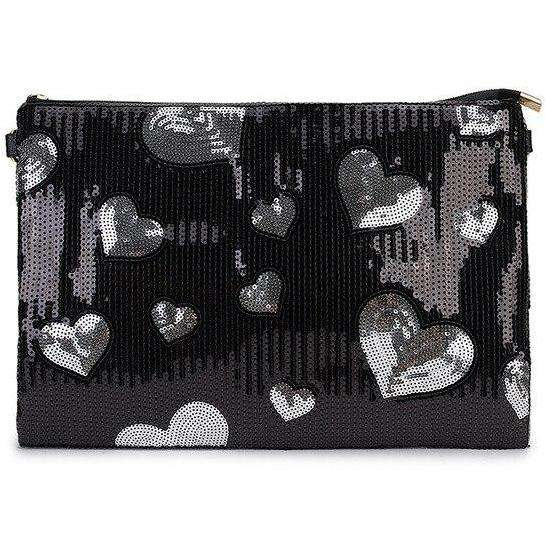 Sequin Heart Clutch Bag - Own Saviour - Free worldwide shipping