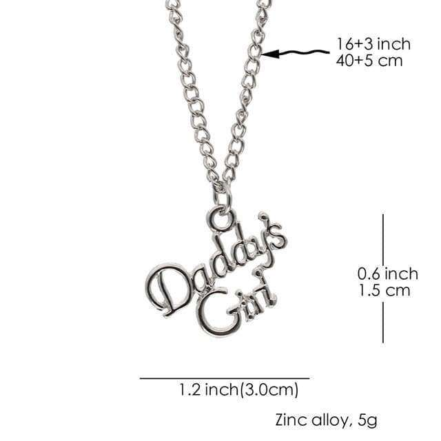 Daddy's Girl Necklace - Own Saviour - Free worldwide shipping