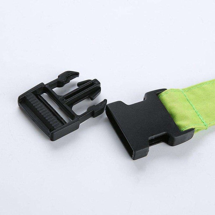 Long Neon Buckle Belt