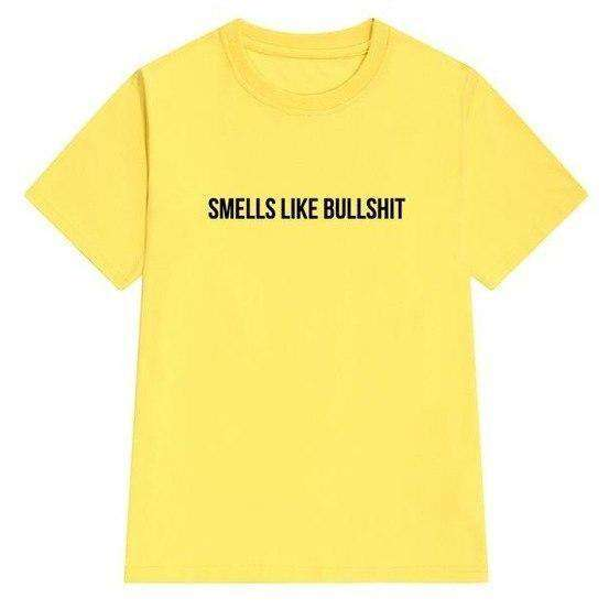 Smells Like Bullshit Tee - Own Saviour