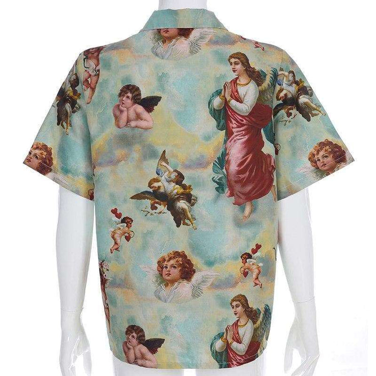 Angel Cherub Shirt - Own Saviour