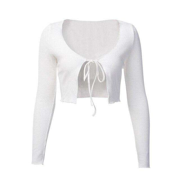 Knit Rib Crop - Own Saviour - Free worldwide shipping