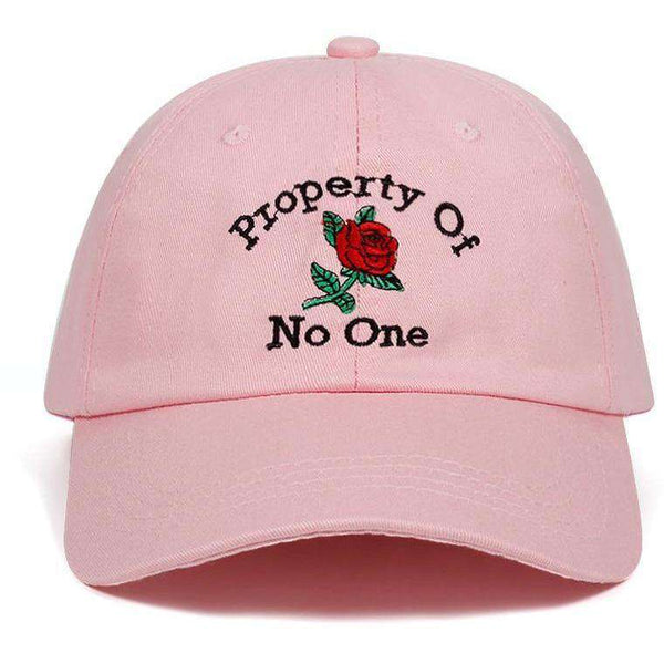 Property of No One Dad Hat-Own Saviour