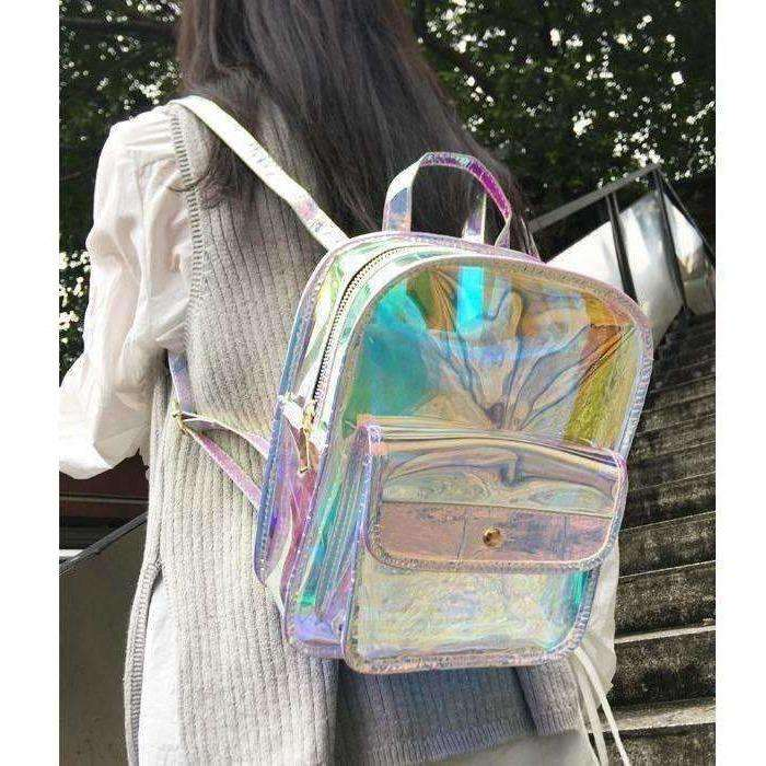 Rita Holographic Backpack-Own Saviour