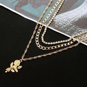 Rose Layer Necklaces - Own Saviour - Free worldwide shipping