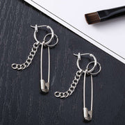 Safety Pin Earrings - Own Saviour