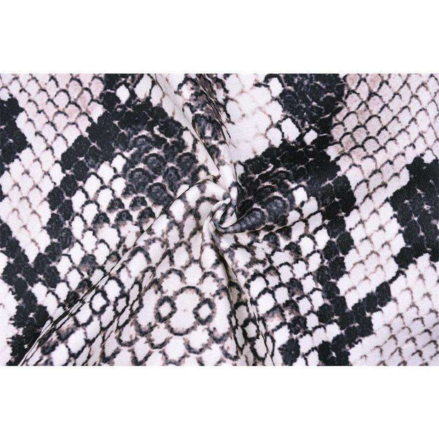 Slither Snake Print Cycle Shorts Set - Own Saviour - Free worldwide shipping