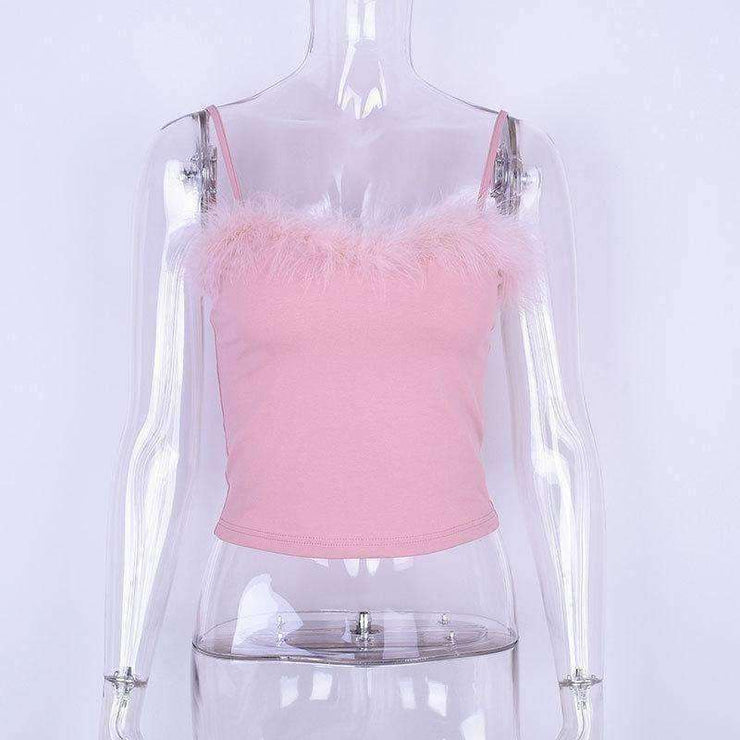 Summer Fluffy Top - Own Saviour - Free worldwide shipping