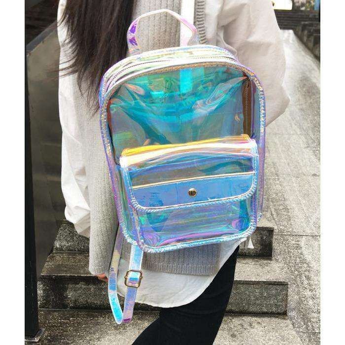 Transparent PVC Backpack - Own Saviour - Free worldwide shipping