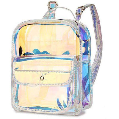 Transparent PVC Backpack - Own Saviour