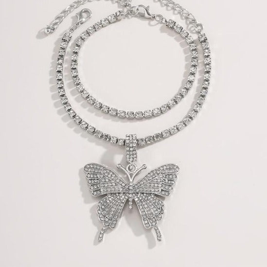 Butterfly Pendant Anklet - Own Saviour