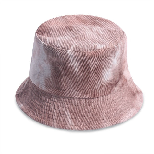 Cord Tie Dye Bucket Hat - Own Saviour