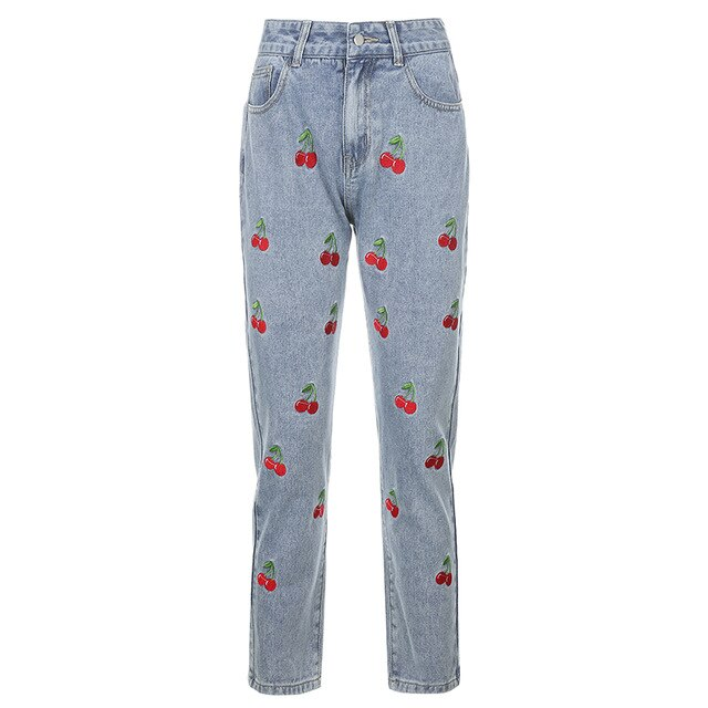 Cherry Jeans - Own Saviour - Free worldwide shipping