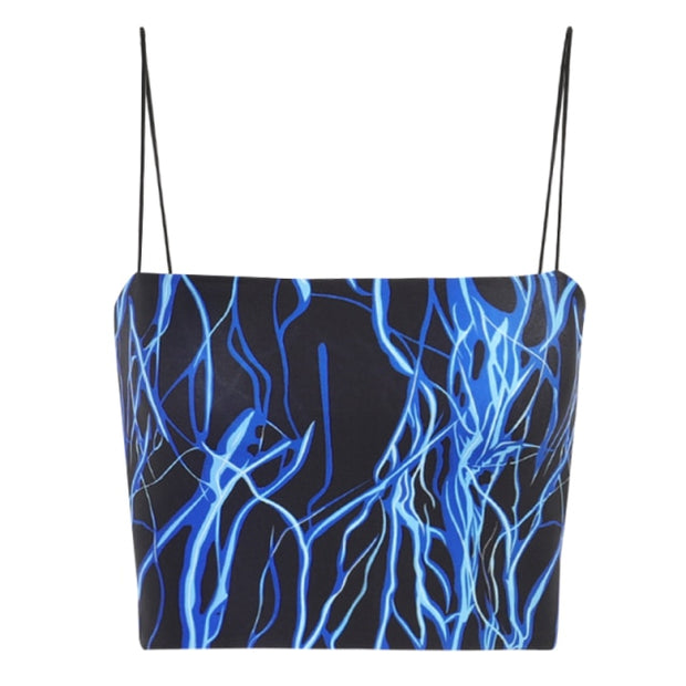 Blue Lightning Cami Crop - Own Saviour