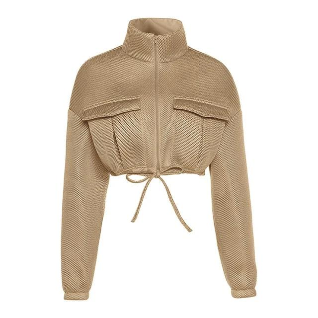 Crop Parka Jacket - Own Saviour - Free worldwide shipping